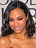 Zoe Saldana at the 2010 Golden Globe Awards