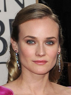 Diane Kruger at the 2010 Golden Globe Awards