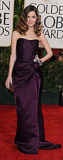 Rose Byrne Wears Eggplant to 2010 Golden Globes