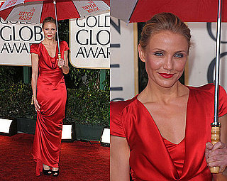Cameron Diaz in Alexander McQueen at 2010 Golden Globe Awards