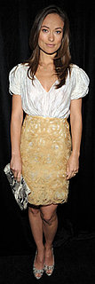 Olivia Wilde in Lace Skirt
