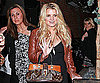 Slide Photo of Jessica Simpson at Dinner in LA