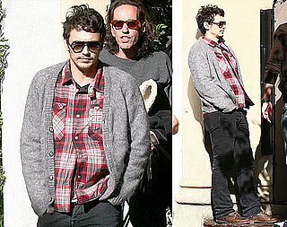 Photos of James Franco at The Chateau Marmont in LA