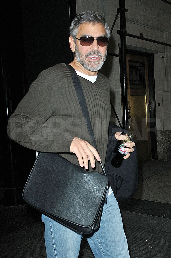 Photos of George Clooney in NYC