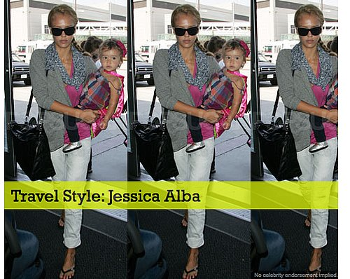 Travel Style: Jessica Alba