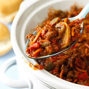 Sunday Slow Cooker: Spicy Beef Sloppy Joes