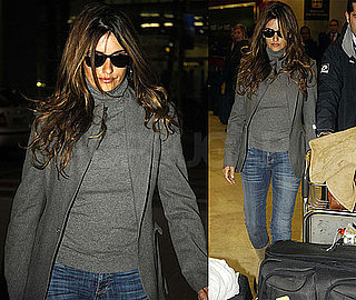 Photos of Penelope Cruz Arriving in Madrid