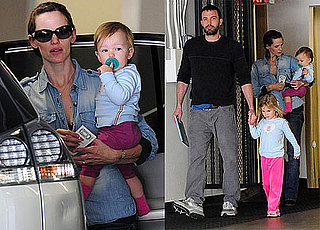 Photos of Ben Affleck, Jennifer Garner, Violet Affleck, and Seraphina Affleck Together in LA 2010-01-15 09:15:00