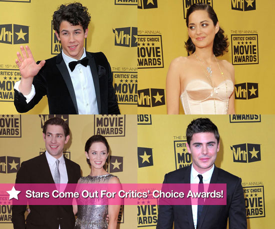 Stars Come Out For the Critics' Choice Awards!