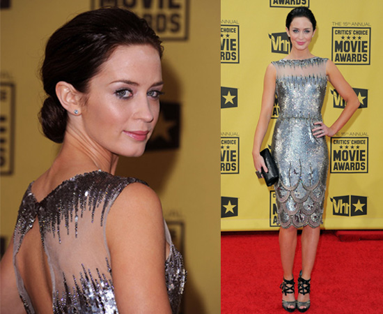 Emily Blunt at 2010 Critics' Choice Awards 2010-01-15 17:34:02