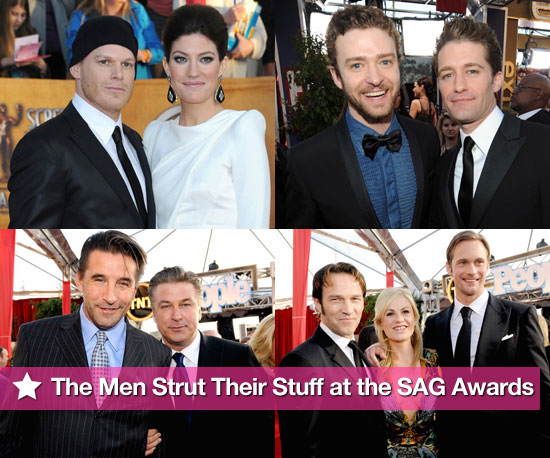 The Men Strut Their Stuff at the SAG Awards