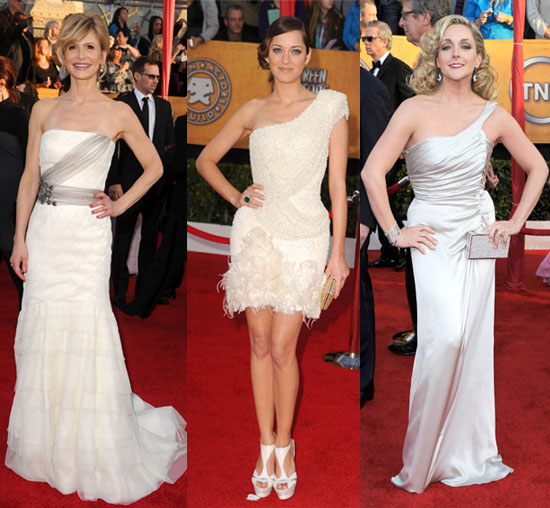 2010 Screen Actors Guild Awards Trend: White Out
