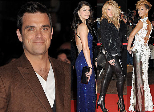 Photos of Robbie Williams, Rihanna, Ke$ha, Pharrell Williams, Fergie, Black Eyed Peas on the Red Carpet at NRJ Music Awards 2010 2010-01-24 04:02:51