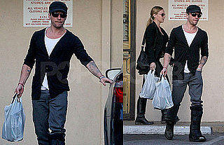 Ryan Phillippe With Abbie Cornish in LA