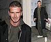 David Beckham Photos Milan Fashion Week; Victoria Beckham in London
