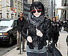 Slide Photo of Ashlee Simpson Going to Barneys NYC