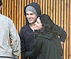 Slide Photo of Zac Efron and Vanessa Hudgens Hugging in LA