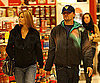 Slide Photo of Leonardo DiCaprio and Bar Refaeli Shopping at Target