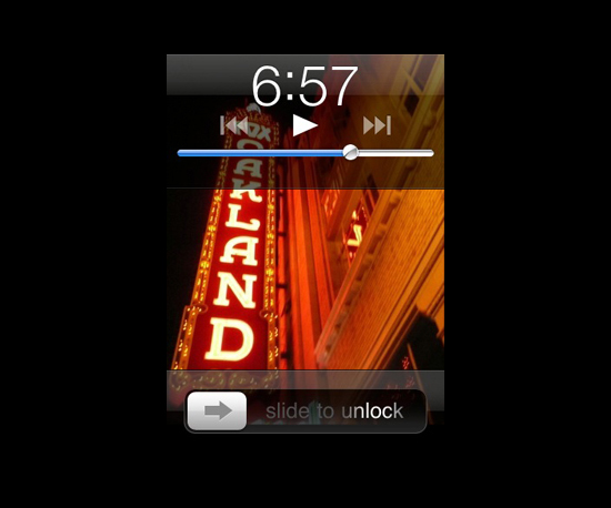 Control Your iPod While Your Phone Is Locked