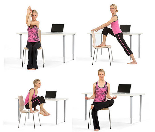 8 Poses For Yoga at Your Desk