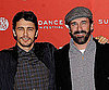 Slide Photo of Jon Hamm and James Franco At Sundance Howl Premiere