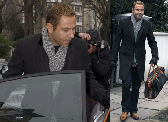 Photos of Engaged David Walliams in London, Newly Engaged David Walliams and Lara Stone Talking About Babies
