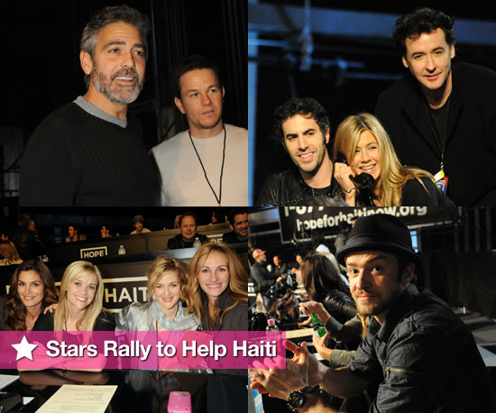 Stars Rally to Help Haiti