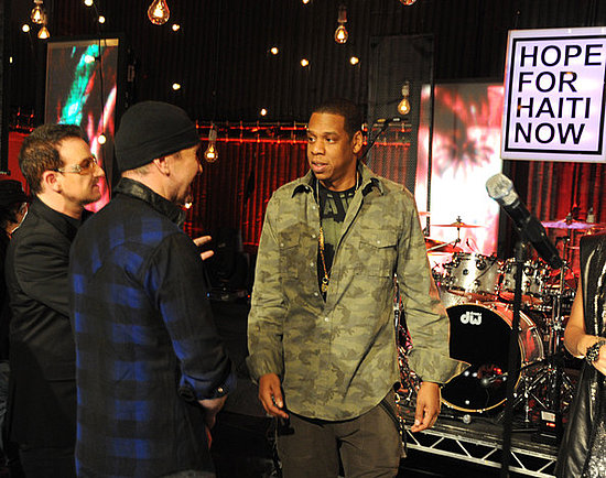 Bono,Edge and Jay-Z