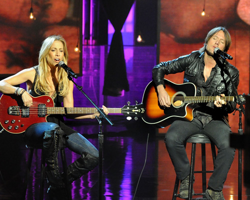 Sheryl Crow and Keith Urban