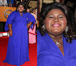 Gabourey Sidibe at 2010 SAG Awards