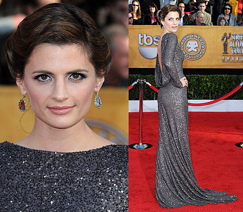 Castle's Stana Katic at 2010 SAG Awards