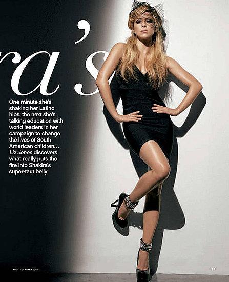 Shakira does You U.K-january 2010