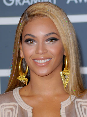 Beyonce Knowles at Grammys