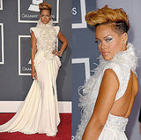 Rihanna in Elie Saab Couture at 2010 Grammy Awards 2010-01-31 18:24:32