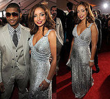 Mya and Usher at 2010 Grammy Awards 2010-01-31 17:21:45