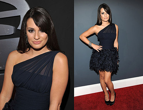 Lea Michele at 2010 Grammy Awards