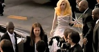 Lady Gaga at 2010 Grammy Awards