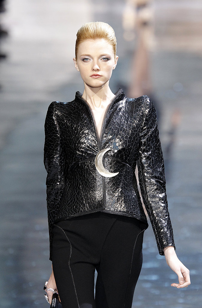 Giorgio Armani Takes His Spring 2010 Couture to a Celestial Place