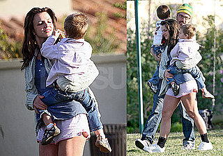 Photos of Britney Spears and Jason Trawick With Sean and Jayden in LA