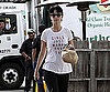 Slide Photo of Katy Perry Leaving Urth Cafe in LA