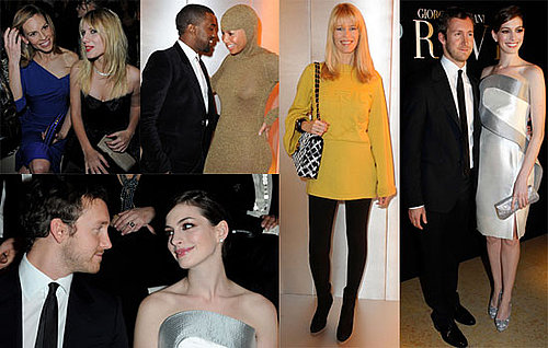 Photos of Kanye West, Hilary Swank, Giorgio Armani, Anne Hathaway, And Alexa Chung at The Paris Couture Shows 2010-01-26 12:30:00