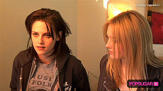Kristen Stewart and Dakota Fanning in The Runaways 2010-01-27 12:30:00