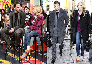 Photos of Channing Tatum and Amanda Seyfried Promoting Dear John at MuchMusic in Toronto, Canada