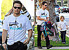 Photos of Mark Wahlberg Picking Up Daughter Ella Wahlberg in LA 2010-01-28 10:30:00