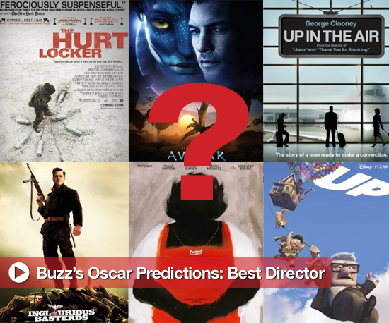 Buzz's Oscar Nominee Predictions: Best Director