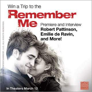 Test Your Robert Pattinson Knowledge For a Chance to Win a Trip to Interview the Cast at the Remember Me Premiere!