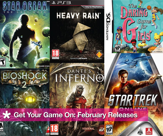 Get Your Game On: February Releases