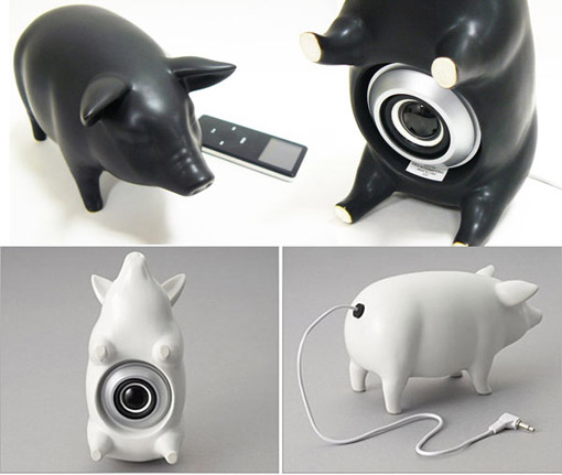 Photos of the Pig Speaker