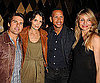 Slide Photo of Cameron Diaz, Tom Cruise, Katie Holmes and Alex Rodriguez at Super Bowl Party