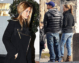 Photos of Leonardo DiCaprio and Bar Refaeli Together in Italy